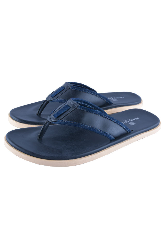 Slippers For Men in D-Blue SKU: SLP0032-D-BLUE
