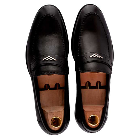 Formal Shoes For Men in Black SKU: SMF0008-Black