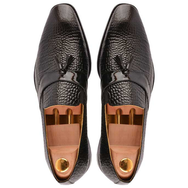 Formal Shoes For Men in Black SKU: SMF0040-BLACK