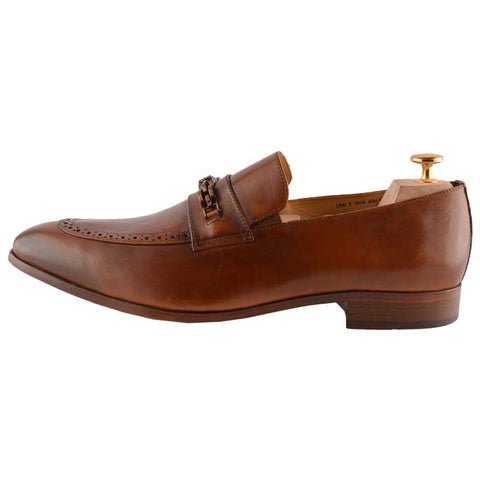 Formal Shoes For Men in Brown : SMF0045-Brown