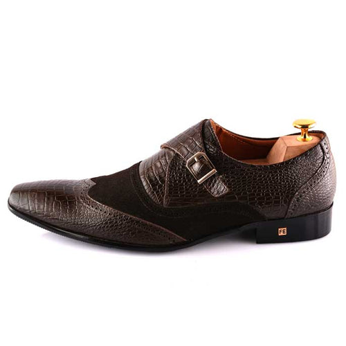 Formal Shoes For Men in Coffee SKU: SMF0055-Coffee