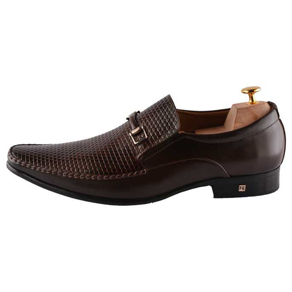 Formal Shoes For Men in D-Brown SKU: SMF0062-D-Brown