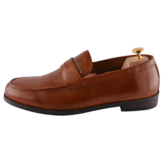 Formal Shoes For Men in L-Brown SKU: SMF-0066-L-BROWN