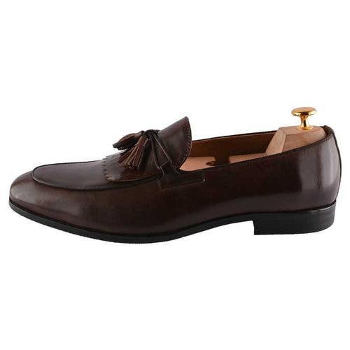Formal Shoes For Men in Coffee SKU: SMF-0070-Coffee