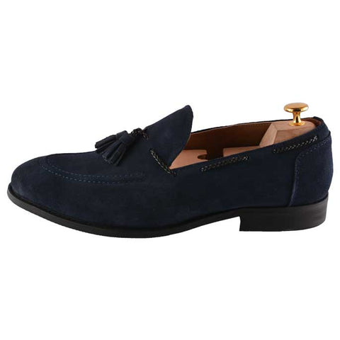 Formal Shoes For Men in Blue SKU: SMF-0072-Blue
