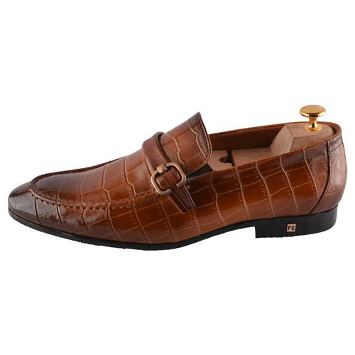 Formal Shoes For Men in Brown SKU: SMF0093-BROWN