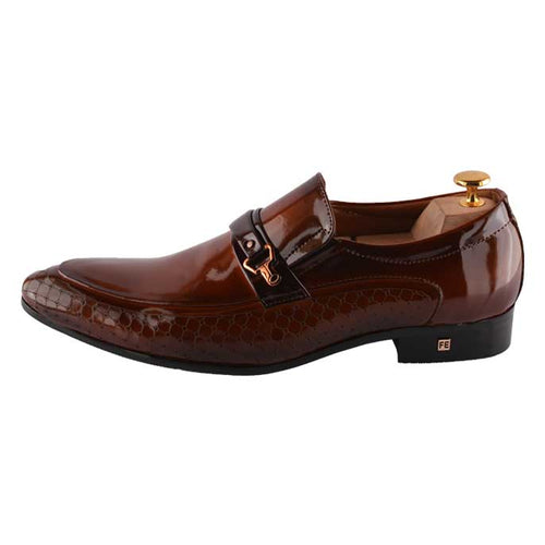 Formal Shoes For Men in Orange SKU: SMF0097-ORANGE