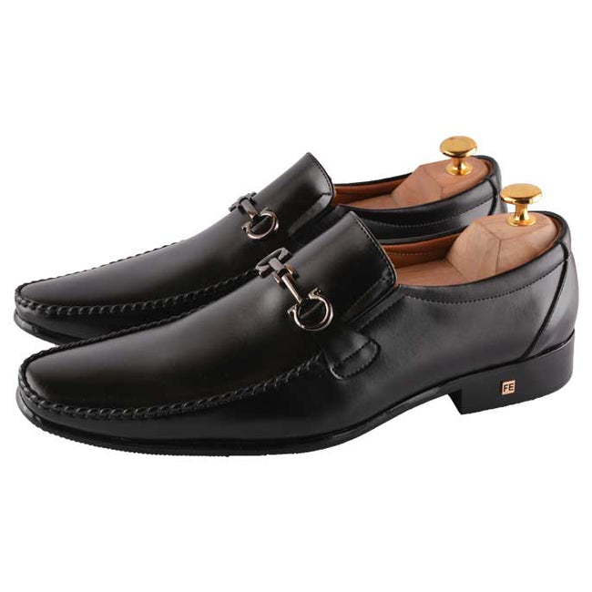 Formal Shoes For Men in Black SKU: SMF0100-BLACK
