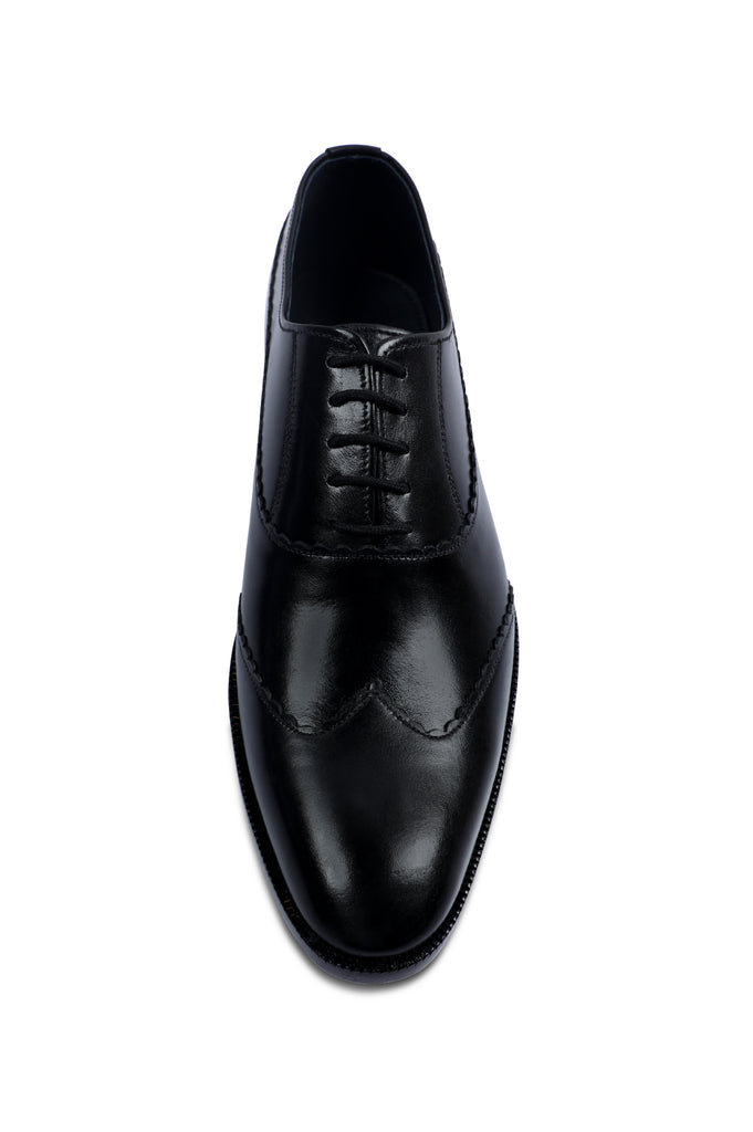 Formal Shoes For Men in Black SKU: SMF-0169-BLACK - Diners