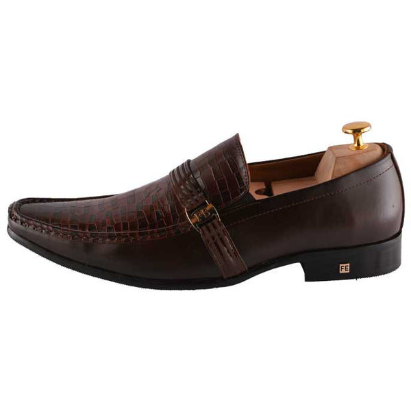 Formal Shoes For Men in D-Brown SKU: SMF0061-D-BROWN