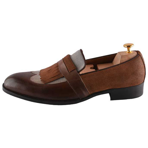 Formal Shoes For Men in Coffee SKU: SMF0071-COFFEE