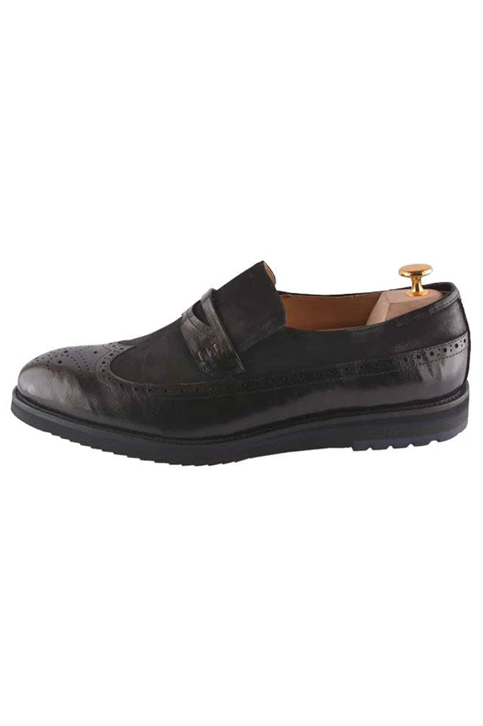 Formal Shoes For Men in Black SKU: SMF0075-BLACK