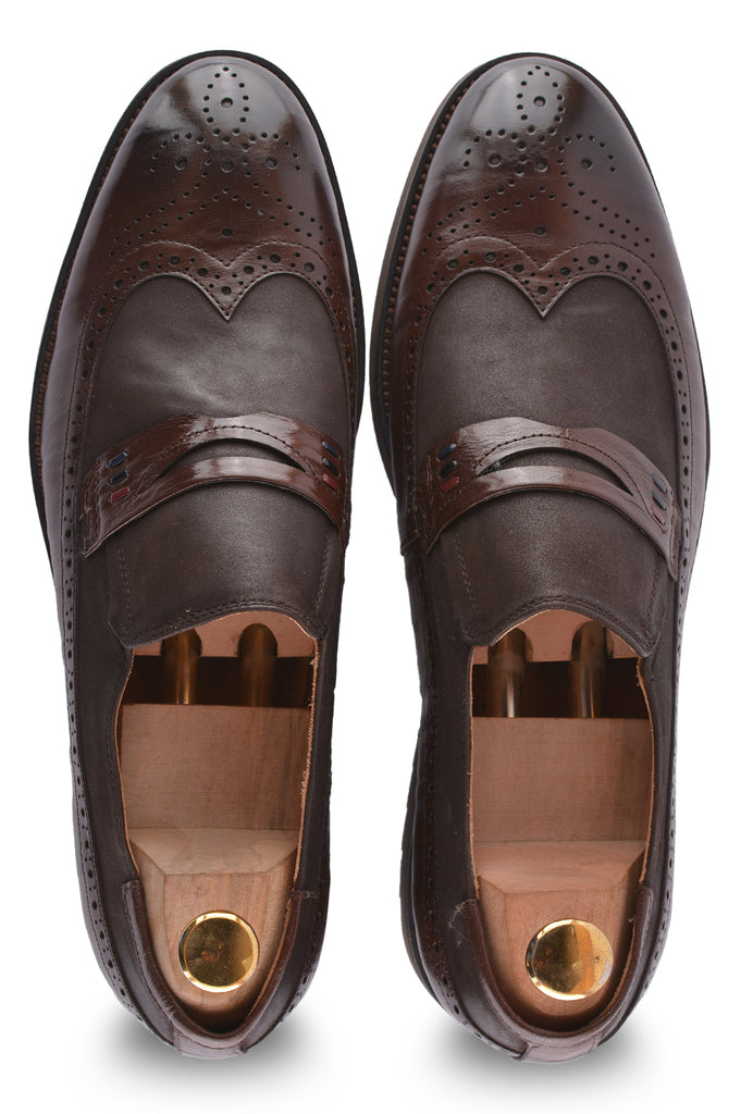 Formal Shoes For Men in Brown SKU: SMF0076-BROWN - Diners