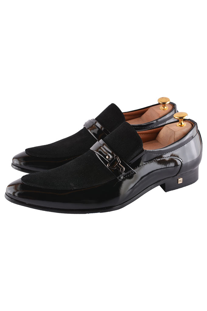 Formal Shoes For Men in Black SKU: SMF0108-BLACK