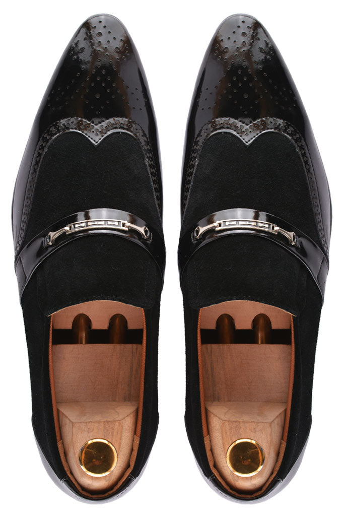 Formal Shoes For Men in Black SKU: SMF0109-BLACK - Diners
