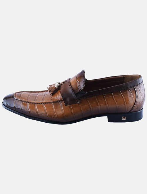 Formal Shoes For L-Brown: SMF0133-L-Brown