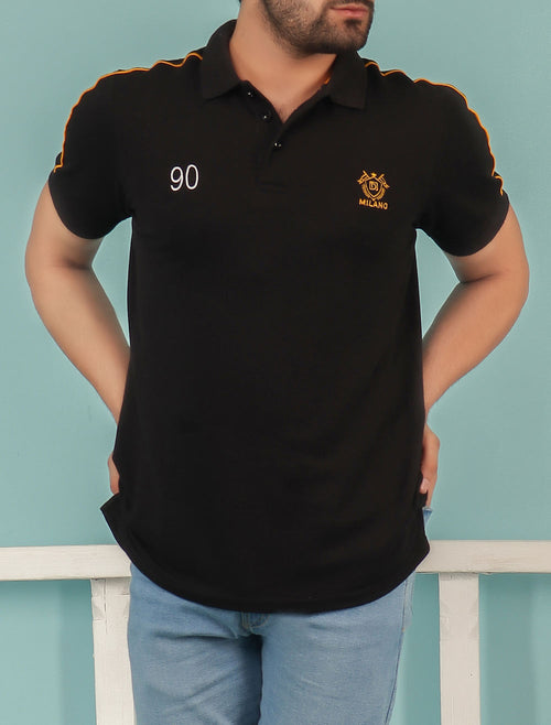 Diner's Men's Polo T-Shirt SKU: NA626-BLACK