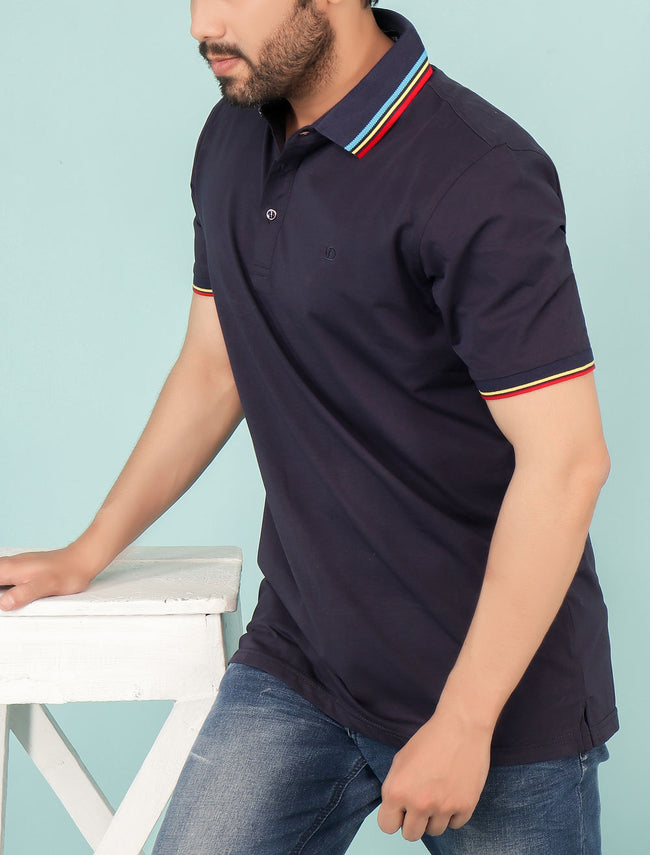 Diner's Men's Polo T-Shirt SKU: NA615-N-BLUE