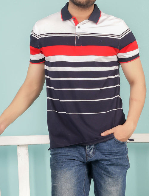 Diner's Men's Polo T-Shirt SKU: NA599-RED