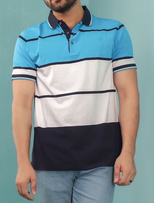 Diner's Men's Polo T-Shirt SKU: NA600-Blue