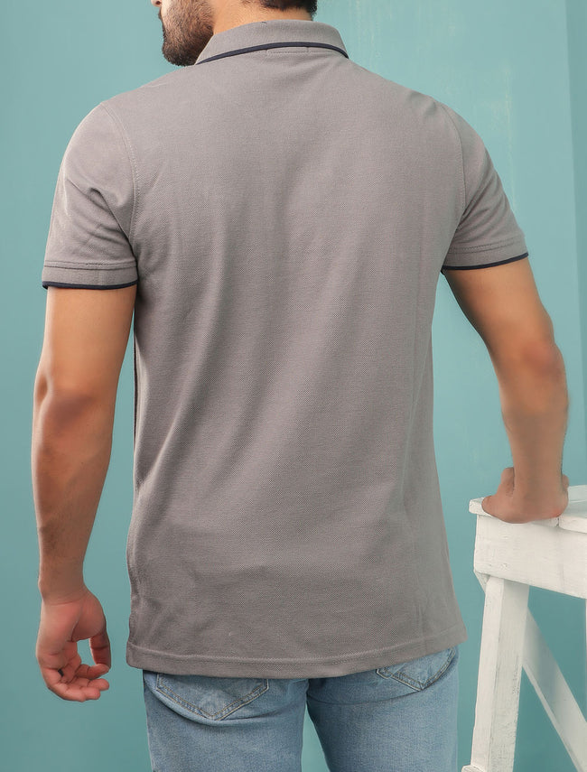 Diner's Men's Polo T-Shirt SKU: NA625-GREY