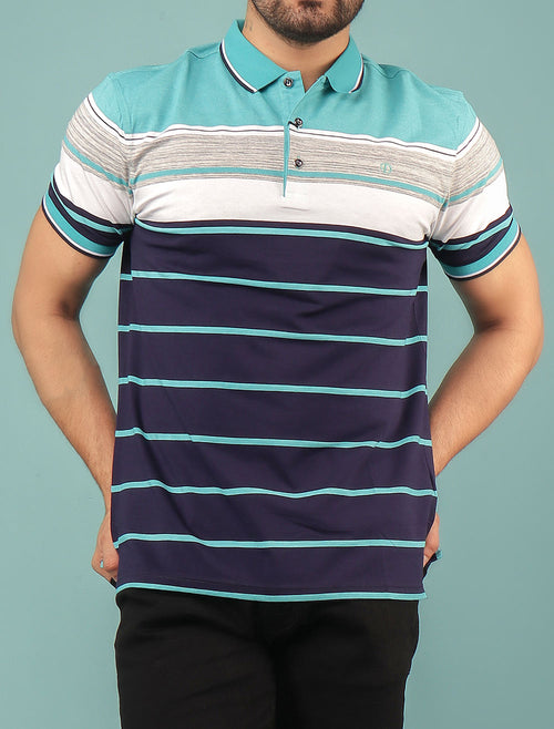 Diner's Men's Polo T-Shirt SKU: NA609-AQUA