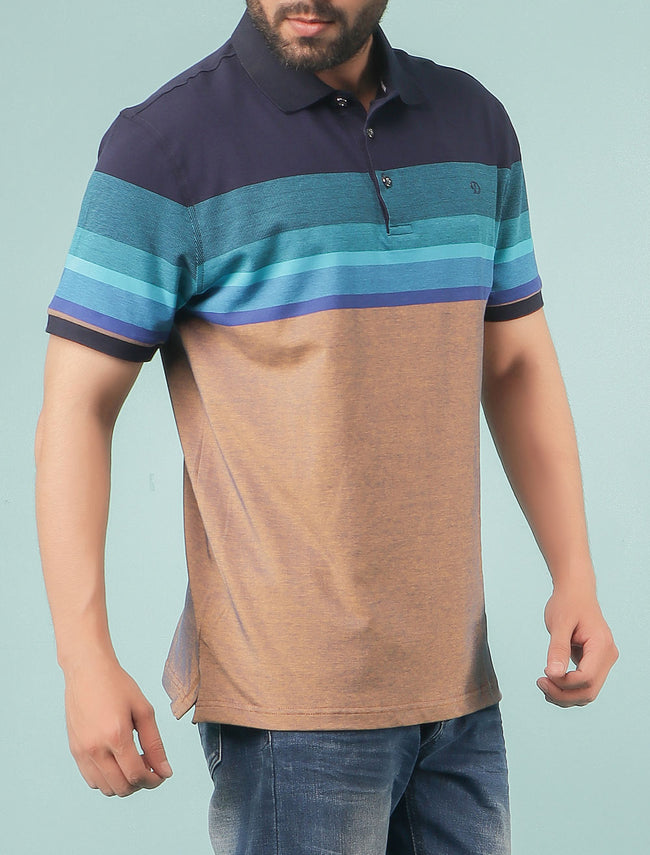 Diner's Men's Polo T-Shirt SKU: NA605-AQUA