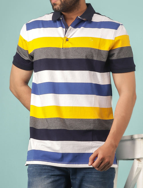 Diner's Men's Polo T-Shirt SKU: NA610-YELLOW