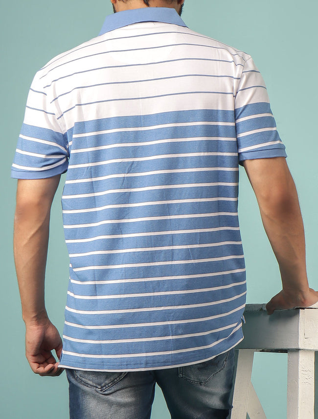 Diner's Men's Polo T-Shirt SKU: NA612-L-Blue