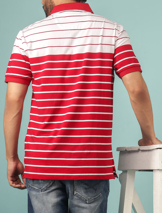 Diner's Men's Polo T-Shirt SKU: NA612-RED