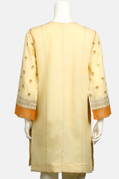 Embroided Kurti WKF0044-Beidge
