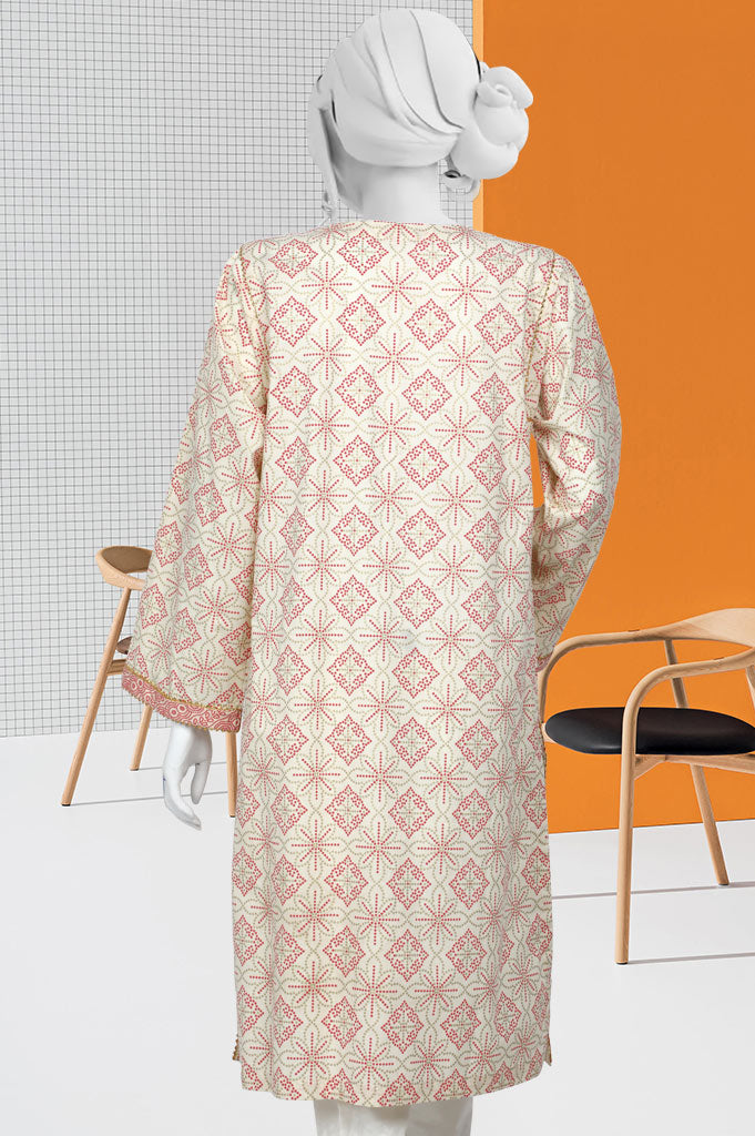 Women Stitched Kurti In Cream SKU: WKL0415