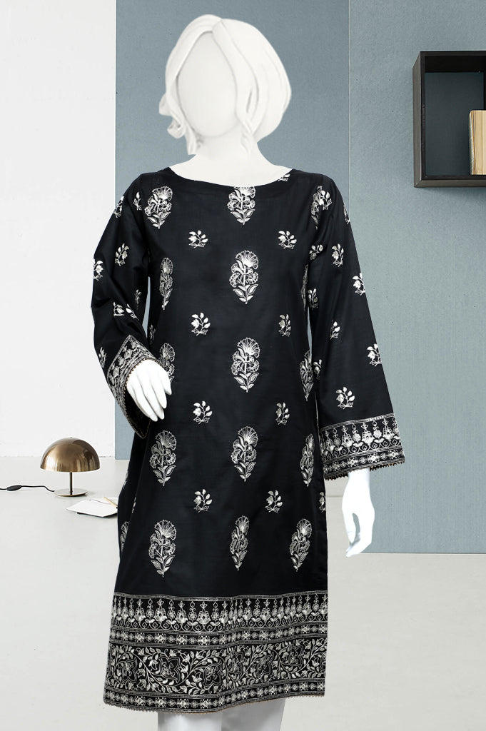 Embroided Shirt (WKL0446-Black) - Diners