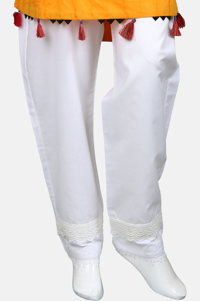 Ladies Trouser SKU: WTR0094-White