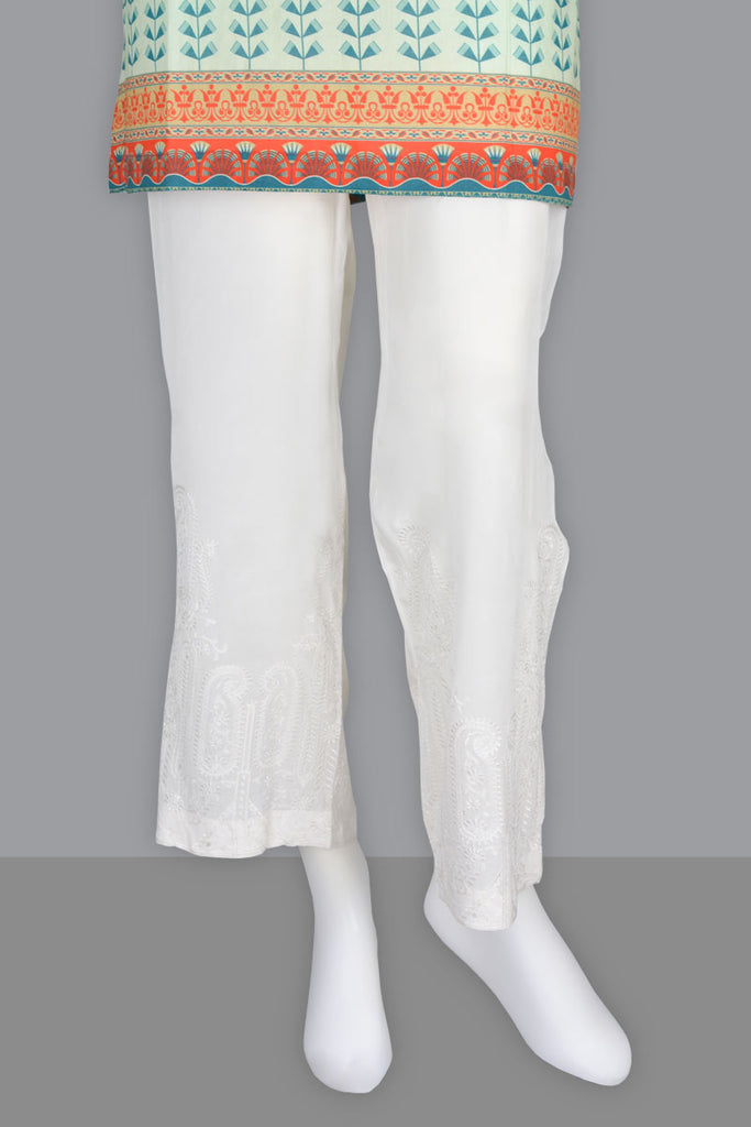 Ladies Trouser SKU: WTR0051-White