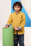 Boys Casual Shirt In Yellow SKU: KBB-0240-Yellow