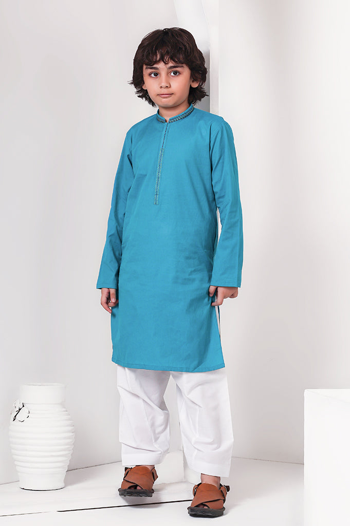 D-Juniors Boys In Teal SKU: KBKS-0029