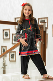 Girls Kurti in Black KGKK-0154