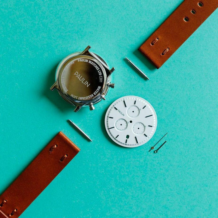 The C201 Chronograph - assembled in Glasgow