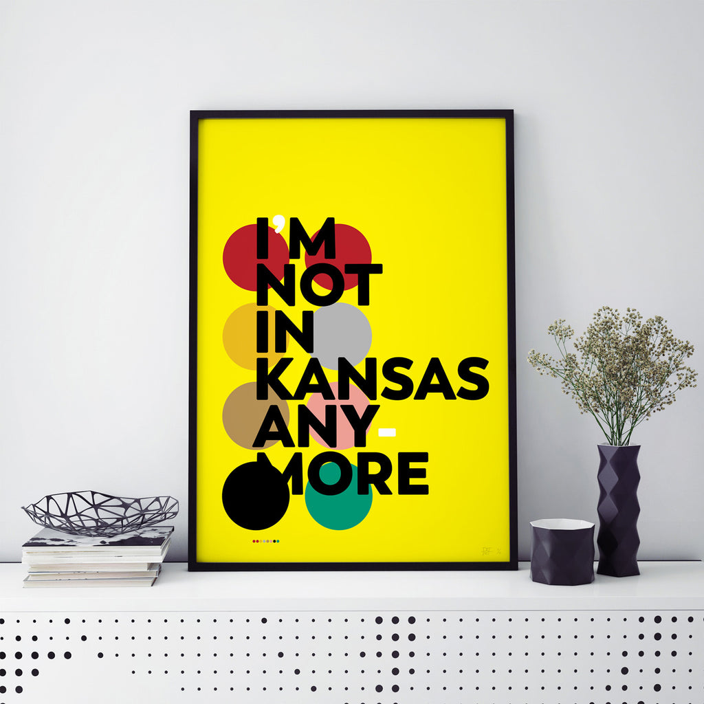 I'm Not In Kansas Anymore, New Limited Edition Colour Art print available at what Phil sees
