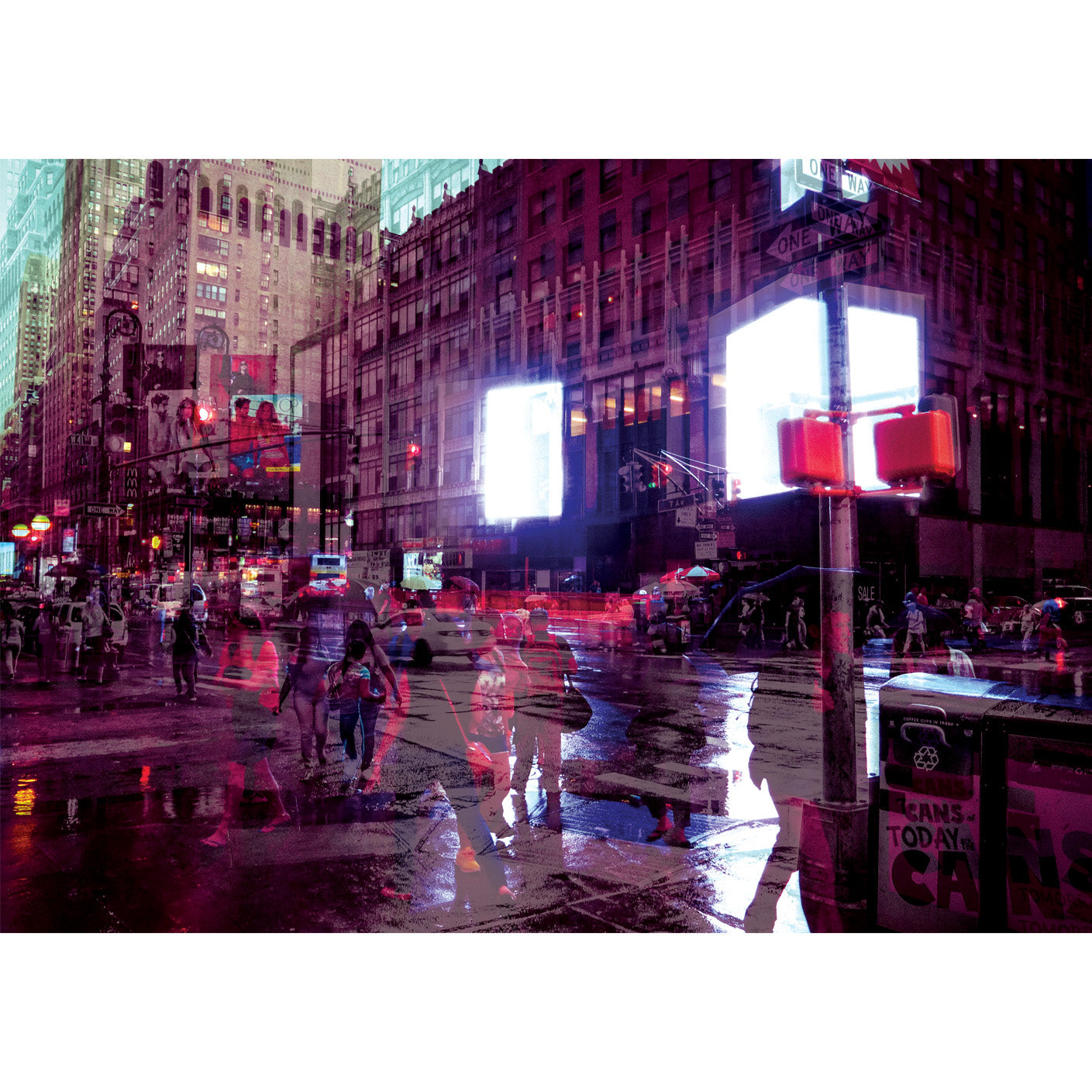 Limited Edition colour fine art photography A2 size art giclee print taken on the streets of New York City