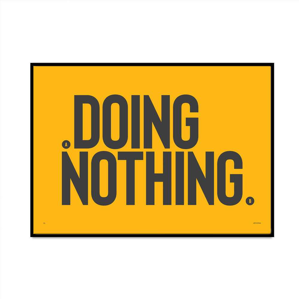 doing nothing 5