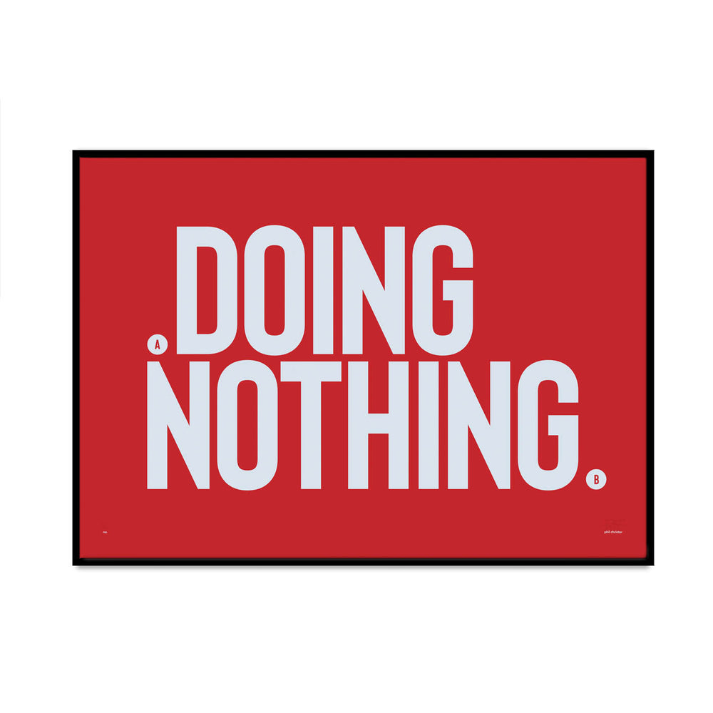doing nothing 4