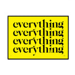 everything (100% yellow edition)