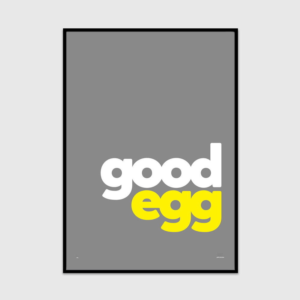 you're a good egg (over easy edition)