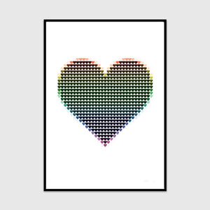 my pixel heart (rainbow edition)