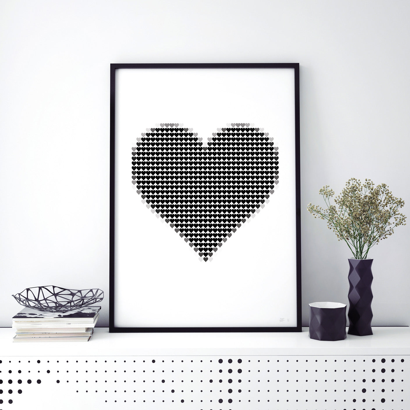 what Phil sees studio creatives and designs typography and photography limited edition art prints this is called my pixel heart