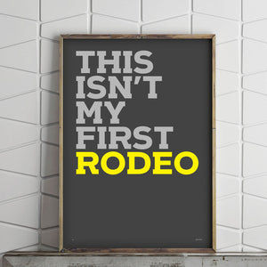 first rodeo (pro edition)