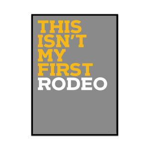 first rodeo - what phil sees