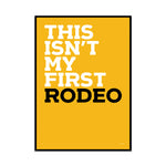 first rodeo (mashup edition)